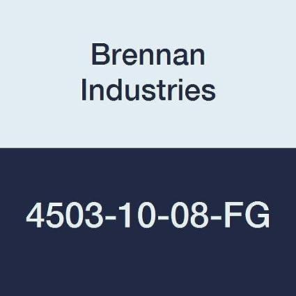1//2 Male NPTF x 1//2 Female NPTF x 1//2 Female NPTF 1//2-14 NPTF x 1//2-14 NPTF x 1//2-14 NPTF Thread Brennan Industries 5602-08-08-08-B Brass Street Tee Tube Fitting