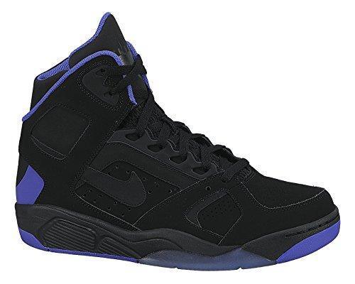 Nike Men's Air Flight Lite High Black/Persian Violet Basketball Shoe 10 Men US