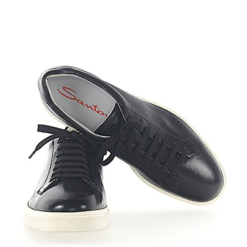 Sneaker 20672 Leder Schwarz