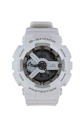 Casio-G-Shock-White-and-Rose-Dial-Resin-Quartz-Mens-Watch-GMAS110CM-7A2