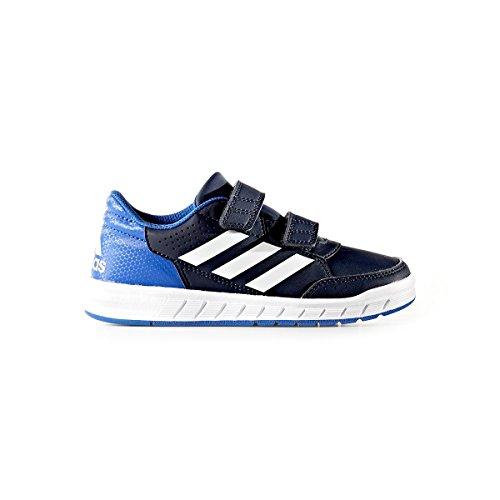 adidas altasport CF K, zapatos de gimnasia unisex infantil azul