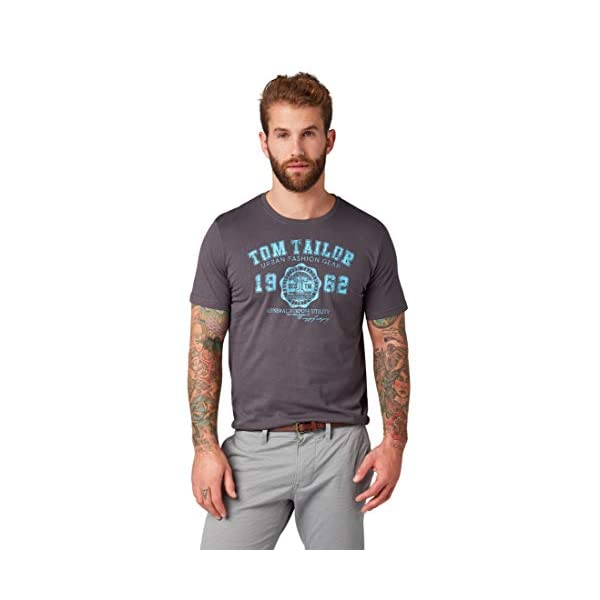 41xEctokhIL. SS600 - TOM TAILOR Herren T-Shirt