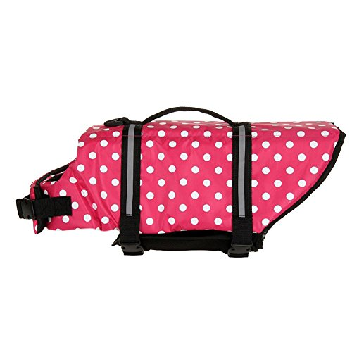 Pet Preserver Aquatic Dog - Domybest Dog Saver Life Jacket Vest Pet Preserver Aquatic Safety Wave XL