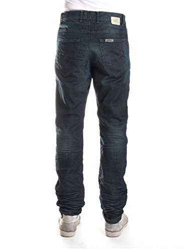 Jeans Lavaggio Uomo Blu Carrera Loose 120 Fit Scuro 7Fqp6Rx