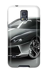 Durable Case For The Galaxy S5- Eco-friendly Retail Packaging(lamborghini Estoque Concept) 1035851K35950941