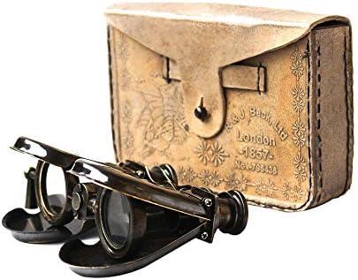 [해외]Nautical Vintage Classic Marine Spy Glass Antique London 1857 R & J Beck Brass Binocular Collectibles Gift / Nautical Vintage Classic Marine Spy Glass Antique London 1857 R & J Beck Brass Binocular Collectibles Gift