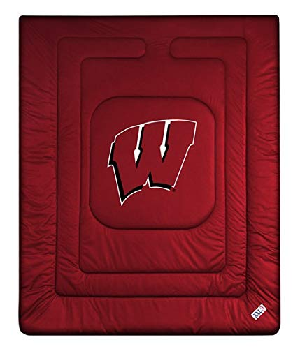 NCAA Wisconsin Badgers Locker Room Comforter ()
