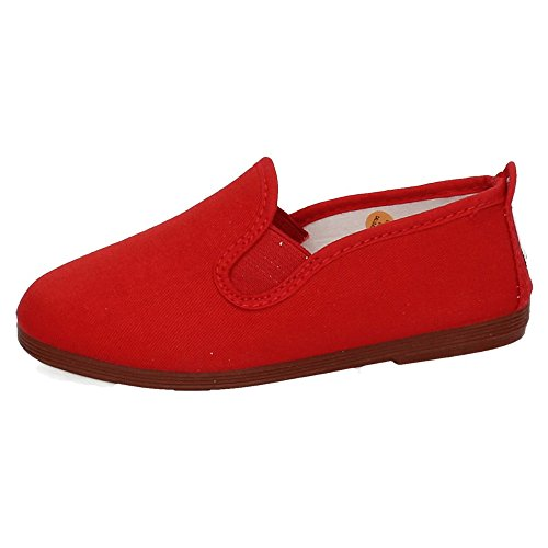 javer 55 Zapatilla Camping Mujer Zapatillas Rojo