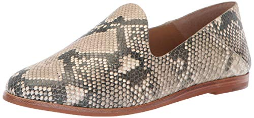 Dolce Vita Women's Azur Oxford, Snake Print Embossed Leather, 6.5 M US