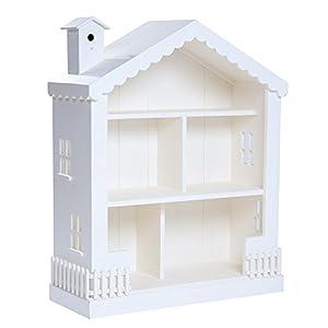 Alice Dollhouse Bookcase Snow Idea