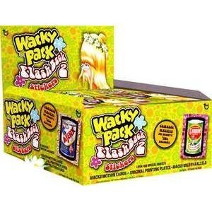 (Wacky Packages Flashback 2 Stickers Box 24)