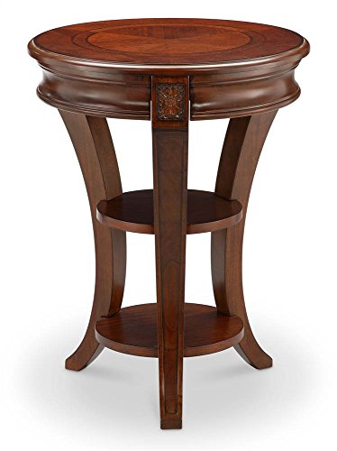 Magnussen T4115-35 Winslet Round Accent Table, 26