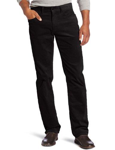 Michael Kors Men's Stretch Cord Jean, Black, 30
