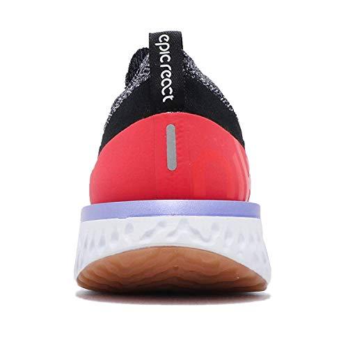 Sneakers black Basses React Orbit Flyknit red Homme white Schwarz Nike Epic nHUxtt