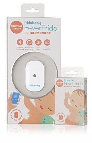 Fridababy FeverFrida the Thermonitor plus 1 Pack of 10 Adhesive Patches by FridaBaby