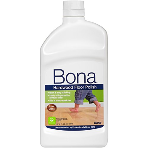 Gloss Hardwood Floors - Bona Hardwood Floor Polish - Low Gloss, 32 Fl Oz