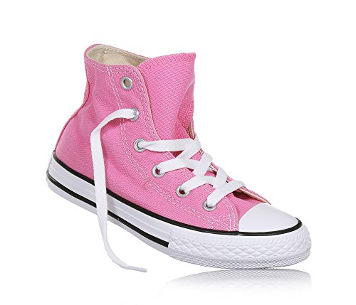 Converse - Zapatillas de tela para niños Pink