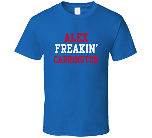 Alex Freakin' Carrington Buffalo Football Player Cool Fan T Shirt M Royal Blue -