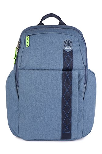 STM Kings Rucksack für Laptop & Tablet bis 38,1cm Tornado Grey china blue