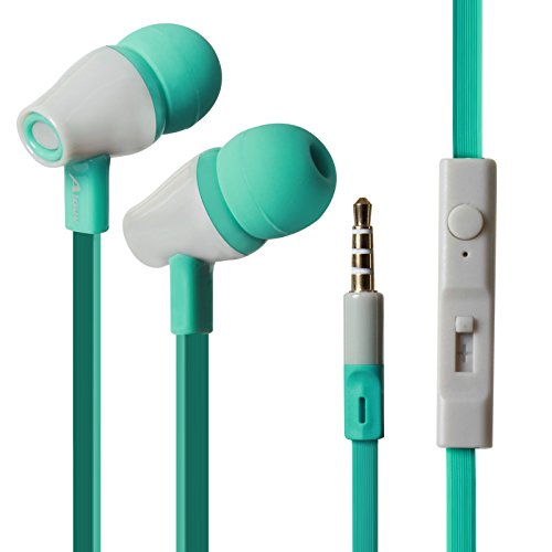 DMG EarA9Green Noise Cancelling Extra Bass Clear Sound Wired Earphone with Mic  Green