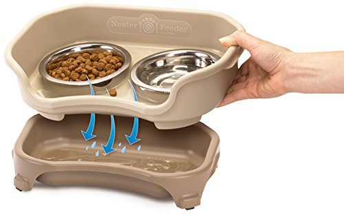 Neater Feeder Express (Small Dog) - With Stainless Steel Dog Bowls and Mess Proof Pet Feeder by Neater Feeder (Image #2)