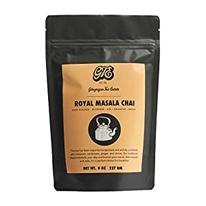 Loose Chai Tea (100+Cups) - Fresh 2019 Harvest - Assam Black Tea Blended With Organic Spices - Direct from Our 5th Generation Tea Estate in India - Great for Chai Latte and Cold Brew Chai - 8 oz Pouch 33