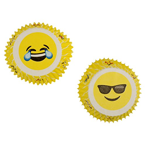 Emoji Liners Party Cupcake Holders