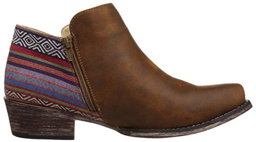 Women's Sedona Brown Boot Western Roper 5dCOqwdxnZ