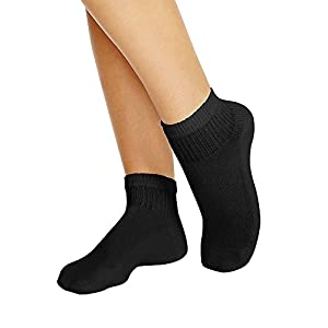 Hanes Cushioned Ankle Athletic Socks (681/10)