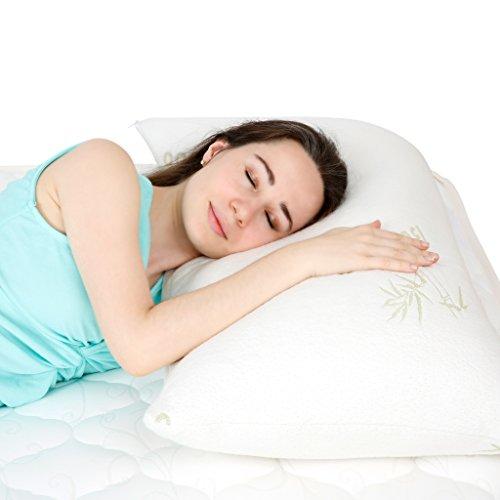 Floureon Shredded Memory Foam Pillow Ultra Plus...