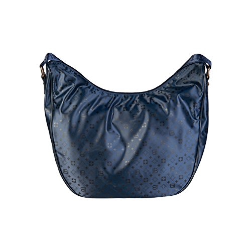 Blue Crossbody RRP Cross 90 Laura Genuine Designer Women Bag Bag £99 Body Biagiotti w81TXqH4
