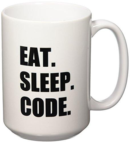 3dRose mug 180391 2 Code Computer Programmer 15 Ounce