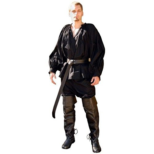 [Mememall Fashion Renaissance Mens Shirt Medieval Pirate Plus Sizes Available] (Wicked Jester Deluxe Adult Mens Costumes)