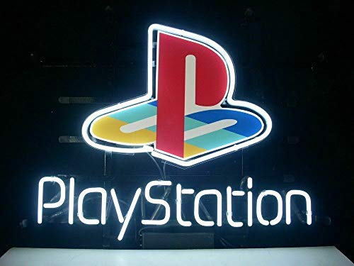 """Price comparison product image Queen Sense 14""""x10"""" Playstation Game Room Neon Sign Light Beer Bar Pub Man Cave Real Glass Lamp DE16"""