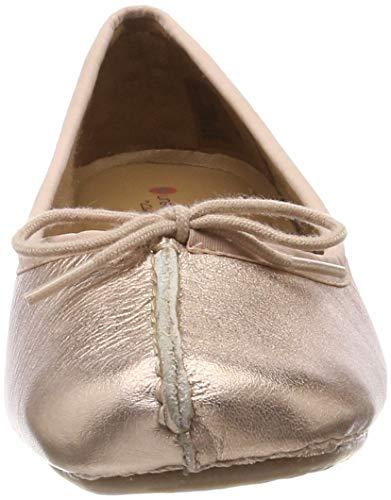 rosa Ice donna da Clarks in Freckle oro Ballerine oro 8npgOgq