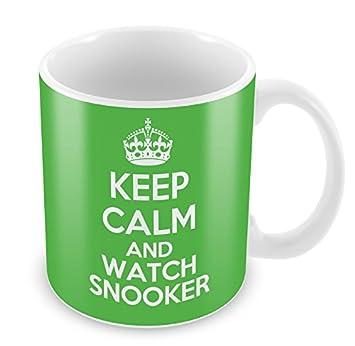 Idée Keep De Calm À Cadeau Café Montre Vert Billard Tasse Mug 76gbvYfy
