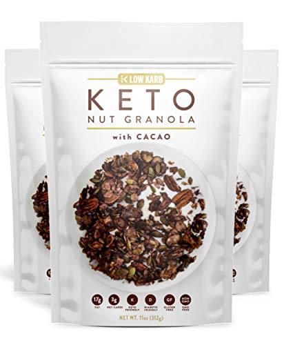 Granola Healthy Breakfast Cereal