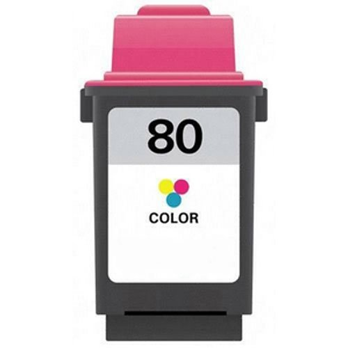 (Genuine New Lexmark 12A1980#80 Standard Yield Color Ink Cartridge)