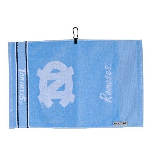 Team Effort North Carolina Tar Heels Face/Club Jacquard Towel ()