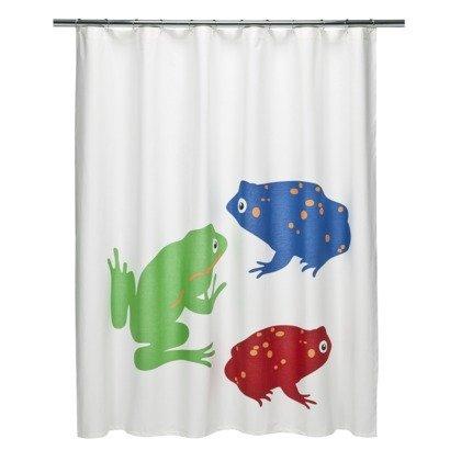 DwellStudio Frogs Shower Curtain 72x72quot