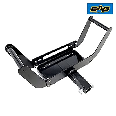 """EAG Removable 2"""" Hich Receiver Cradle Winch Mount for 8,000-12,000 lbs Winch"""