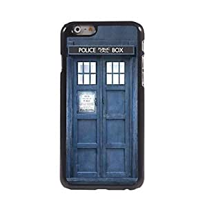 ZXSPACE Police Box Pattern Aluminum Hard Case for iPhone 6