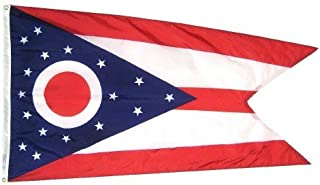 product image for All Star Flags 4x6' Ohio Nylon State Flag - All Weather, Durable, Outdoor Nylon Flag