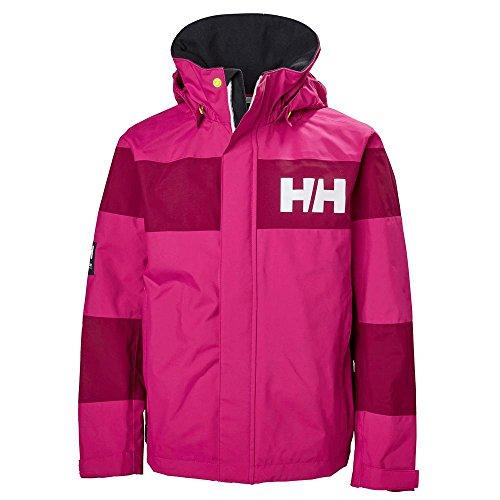 Helly Hansen Junior Salt Port Jacket, Very Berry, Size 10 by Helly Hansen (Image #2)