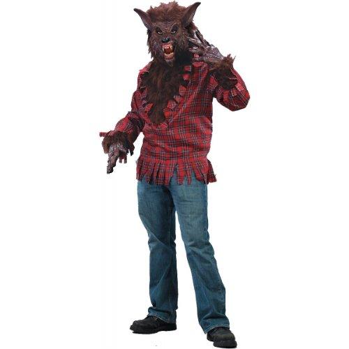 [Werewolf Costume - Standard - Chest Size 33-45] (Wolf Costume Halloween Express)