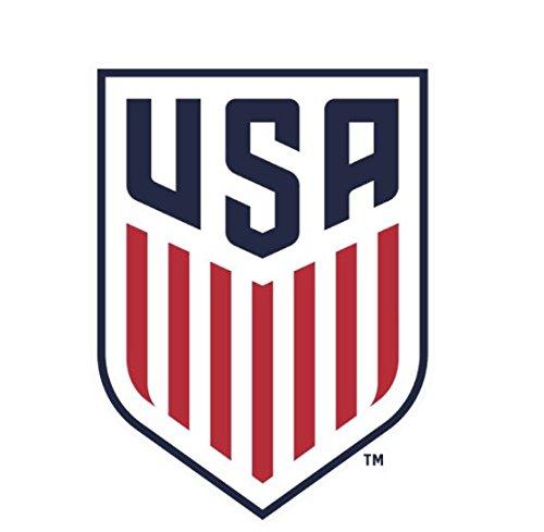 U S A  Soccer National Team Die Cut Decal 4  X 4