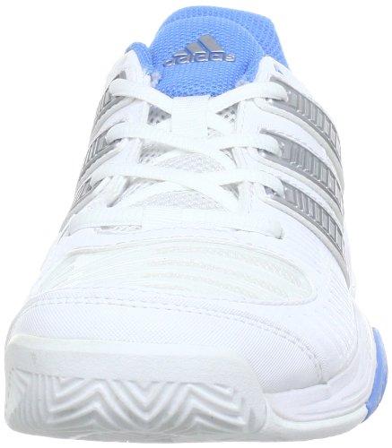 adidas Performance Response Team2 W - Zapatillas De Tenis de material sintético mujer blanco - Weiß (RUNNING WHITE FTW / METALLIC SILVER / JOY BLUE S13)