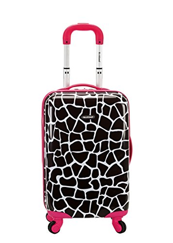 rockland-20-inch-carry-on-skin-pink-giraffe-one-size