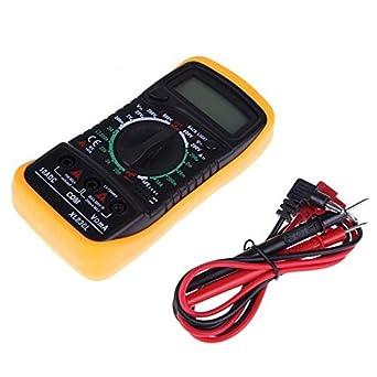 VOLTMETRO MULTIMETRO LCD DIGITALE AC DC OHM TESTER DI CIRCUITO VOLT AMPEROMETRO