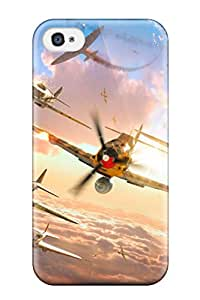 New Snap-on ZippyDoritEduard Skin Case Cover Compatible With Iphone 4/4s- World Of Warplanes Game